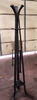 forged coat stand